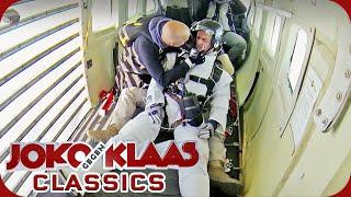 Halo Jump aus 12.000 Meter Höhe: Joko fällt in Ohnmacht! | Duell um die Welt Classics | ProSieben