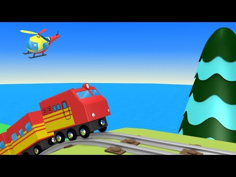 Trains for kids - Choo Choo Train - kids videos for kids - toy factory- trains - trains for children