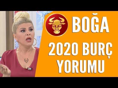 BOĞA BURCU   Nuray Sayarı'dan 2020 burç yorumları