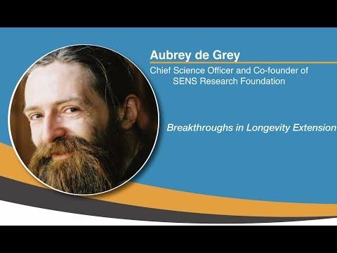 Aubrey de Grey: Breakthroughs in Longevity Extension