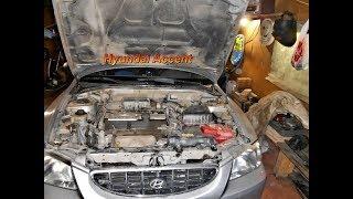 Hyundai Accent ,что стучит в передней подвеске?