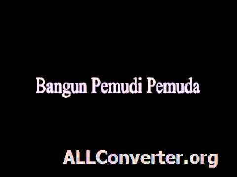Bangun Pemudi Pemuda (sdn2jatisaba.blogspot.com)