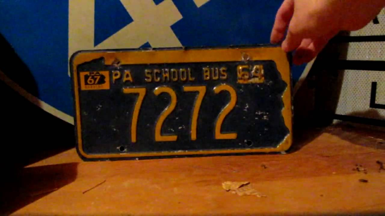 Different Types Of Pennsylvania License Plates & Different Types Of Pennsylvania License Plates - YouTube