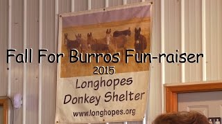 Fall For Burros Fun raiser 2015