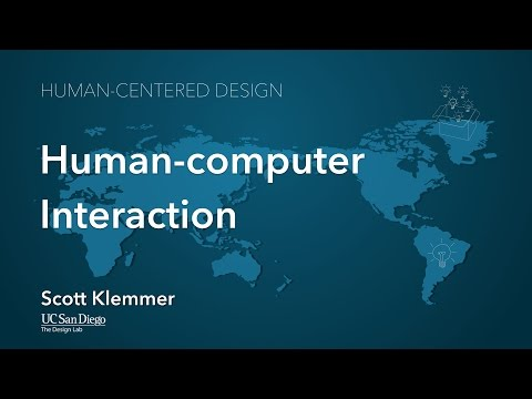 Lecture 1.1 Human Computer Interaction