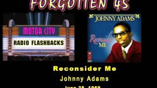 Johnny Adams - Reconsider Me - 1969