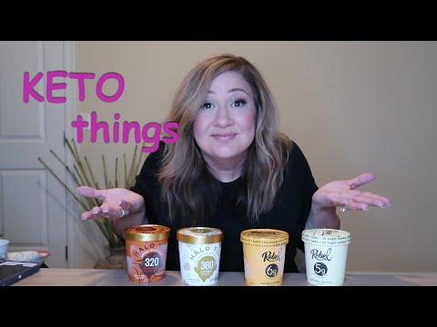Halo Top VS Rebel Ice Cream!  KETO THINGS