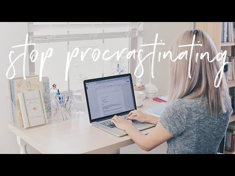 how-to-stop-procrastinating-&-get-work-done-|-productivity-tips-&-hacks