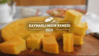 Kaymaklı Mısır Ekmeği Tarifi #mucizelezzetler
