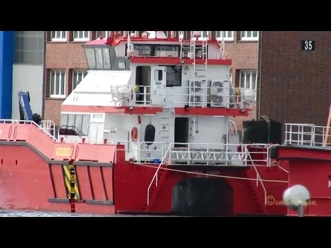 offshore crew boats NJORD THOR IMO 9751810 & NJORD ALPHA IMO 9730634 Emden