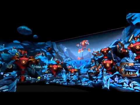 Shanghai Disneyland - Buzz Lightyear Planet Rescue OnRide