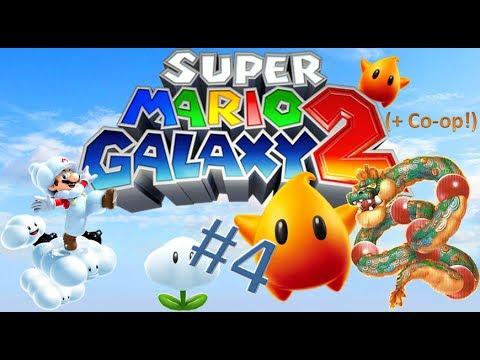 "Super Mario Galaxy 2 Part4 ""My Little Orange Helper!"" (+ Co-op!)"