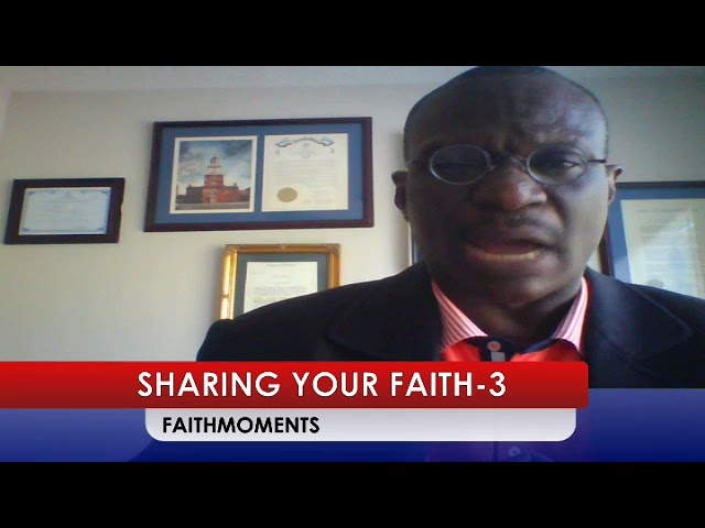 SHARING YOUR FAITH-3