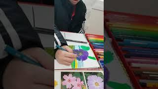 방문미술로 배워보아요♡  초등고학년 색연필화♡