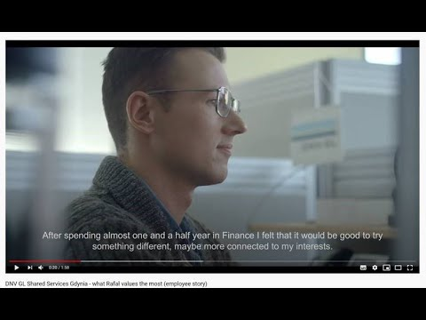 DNV GL Shared Services Gdynia - What Rafał Values The Most (employee Story)