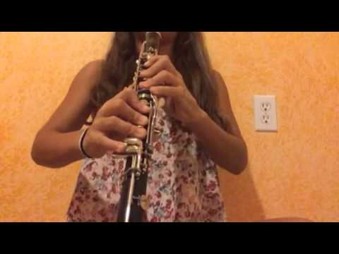 Song Squidward plays in spongebob clarinet cover
