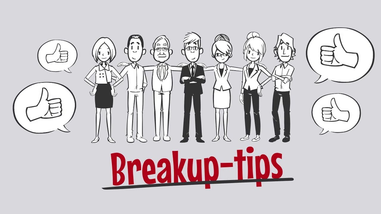 how to overcome breakup stress