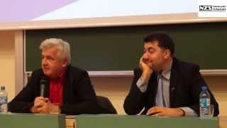 """Debata """"Młodzi na rynku pracy"""" A. Dziambor vs. P. Ikonowicz"""