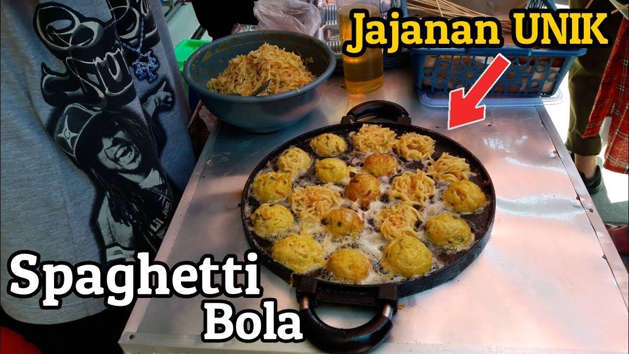 Namanya Spaghetti Bola Jajanan Unik Terbaru Yang Ada Di Bandung