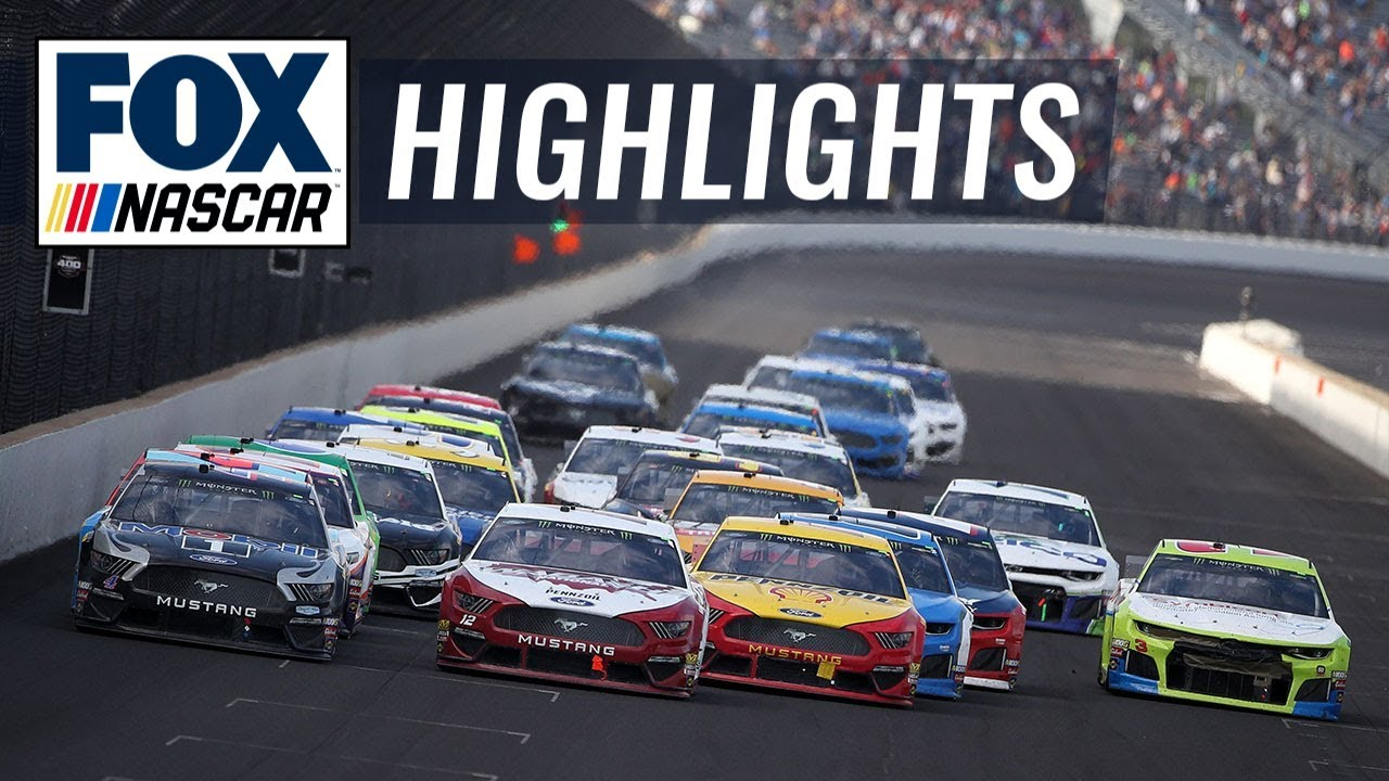 2019 Brickyard 400 | NASCAR on FOX HIGHLIGHTS