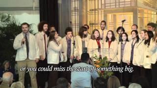 Duke School of Medicine students sing