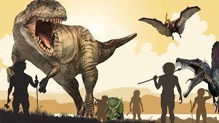 ¿Dinosaurios y Humanos Juntos? EVIDENCIAS ASOMBROSAS