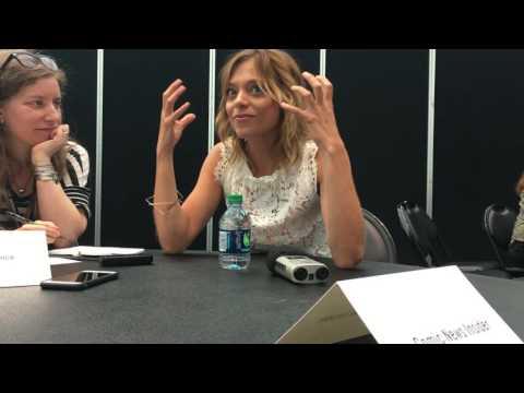 FALLING WATER: Lizzie Brocheré Interview - NYCC 2016
