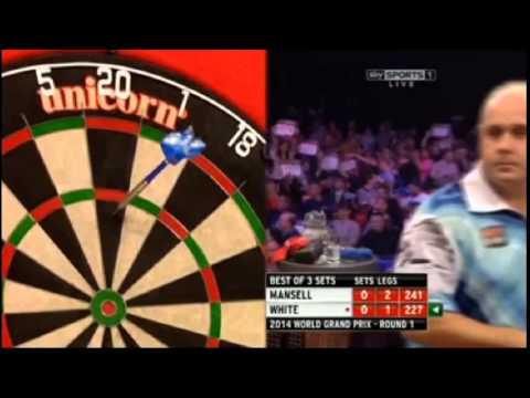 MANSELL vs WHITE - World Grand Prix Darts 2014 - First Round