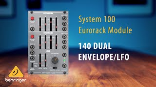 Behringer System 100 – 140 Dual Envelope and LFO Eurorack Module