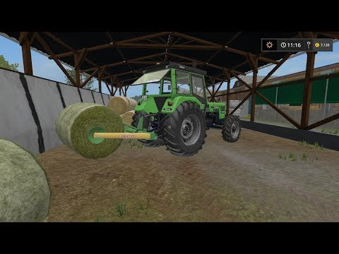 Transporting bales | Small Farm | Farming Simulator 2017 | Episode 5