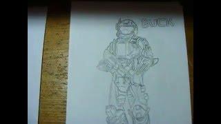 My Halo Drawings