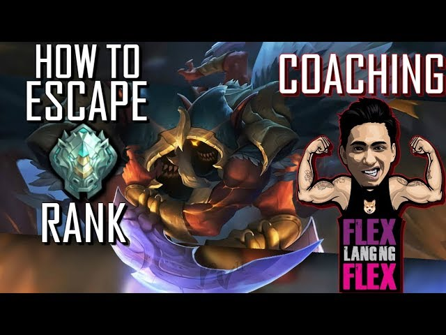 HOW TO ESCAPE EPIC RANK ! COACHING - 1000 DIAMONDS GIVEAWAY - MOBILE LEGENDS - GAMEPLAY - HELCURT
