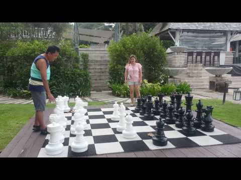 Playing chess board in phuket thailand 5/22/17  ;)
