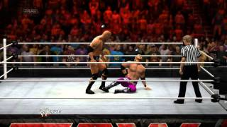 WWE 2K14 The Rock vs Edge