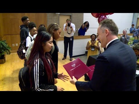 50 Virginia Students Surprised with Full Scholarships to College