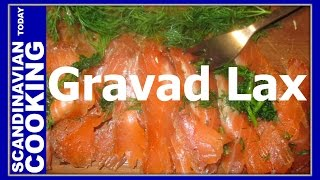 Gravad Laks - Gravad Lax  - A Delicious Nordic Dill-cured Salmon Dish Recipe