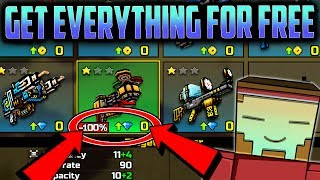 EVERYTHING Is FREE In Pixel Gun 3D!!! PG3D Mod [Weapons, Pets, & MORE!!]