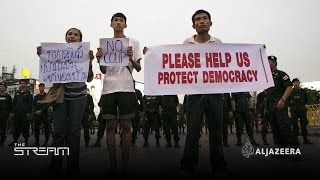 The stream - Thailand- Between coups and democracy