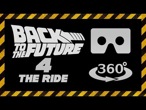 Назад в будущее 4 Фильм 1991 Найден Отреставрирован BTTF RIDE VR 360