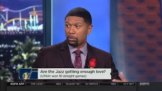 Utah Jazz won 10 straight games, can they make the playoffs?   NBA Countdown