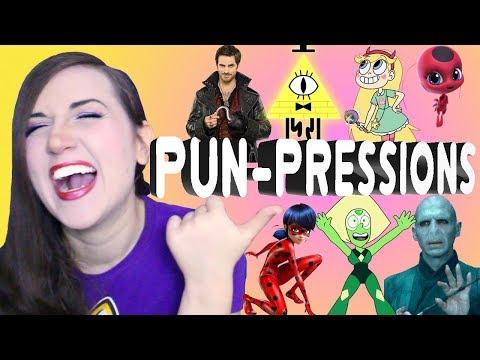 Puns + Impressions = PUN-PRESSIONS! - Impressions Challenge - Madi2theMax