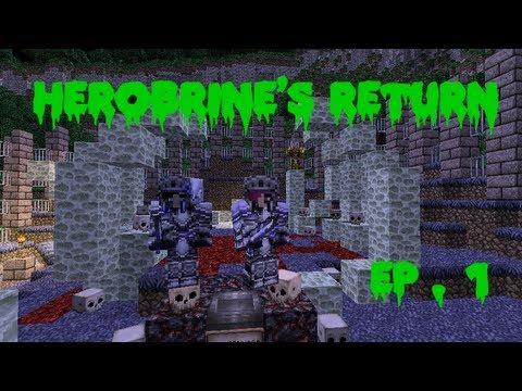 Herobrine's Return Ep.1 The Chosen Two
