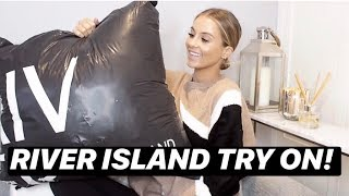 HUGE RIVER ISLAND WINTER TRY ON HAUL | NADIA ANYA