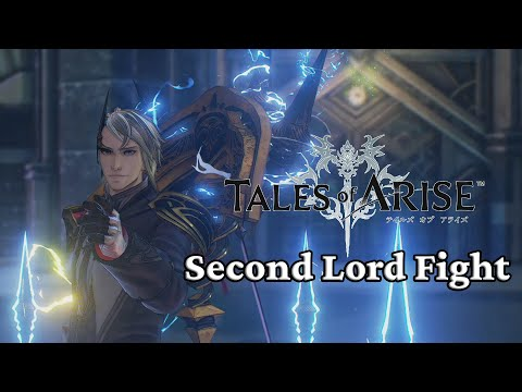 Tales of Arise PC Second Lord Boss Fight Hard Difficulty |