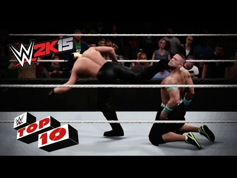 Explosive Moves From the Corner: WWE 2K15 Top 10