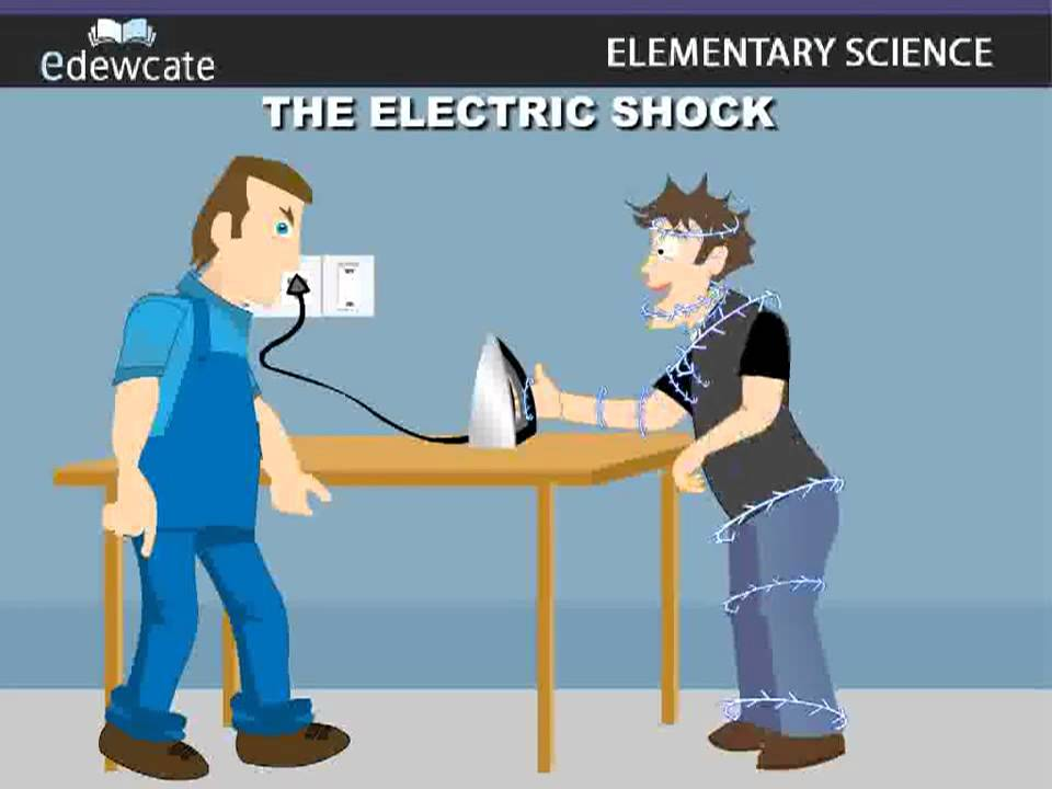 First Aid Electric Shock Youtube