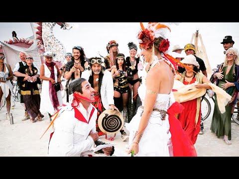 Burning Man Shaman Wedding - Twin Flame Union: The Full Ceremony