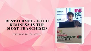 Restaurant - Food Business is the most