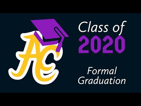 Alcorn Central High School - Class of 2020 Graduation