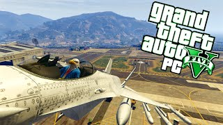 GTA 5 PC Fun - Military Base Takeover, Fruit Stand, Seat Swapping